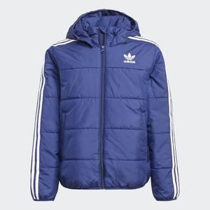 Giubbino Invernale Adidas Adicolor Bambino Blu Bianco Art. H34566