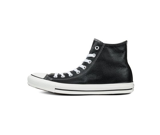 Sneakers converse all star hi leather black 45663 674 2
