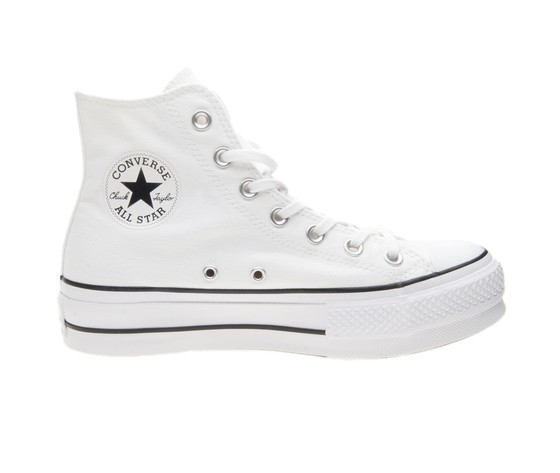 converse all star platform bambini