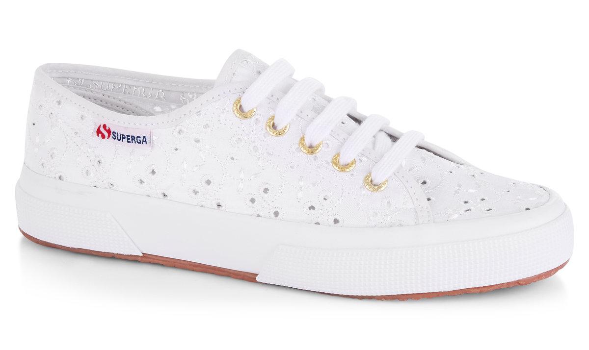Bianco Donna Sneaker Superga 2750 Sangallo Donna Modelli