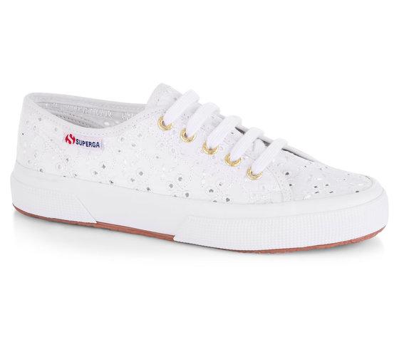 new arrival 5f4e3 7ebdd Superga 2750 Pizzo Sangallo Sneakers Bianco Art. S008C40 901