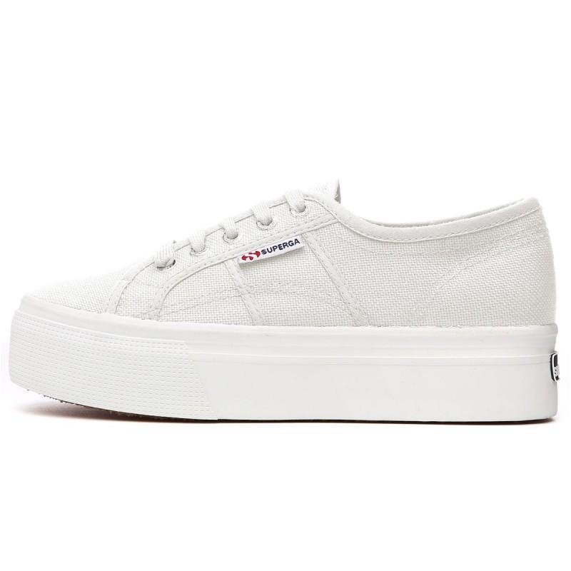 Superga 2790 Scarpe Sneakers Tela Platform Up And Down Bianco Art. S0001L0 901
