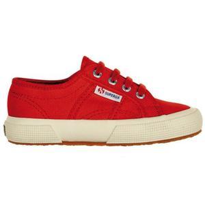 Superga 2750 J Cot Classic Lacci Rosso Red Art. S0003C0 975