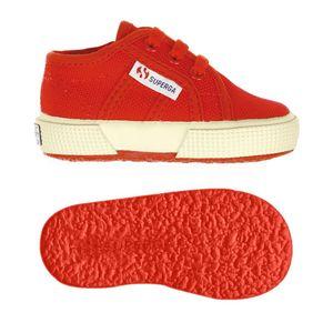 Superga 2750 Bebj Bambini Bimbi Classic Lacci Rosso Red Art. S0005P0 975