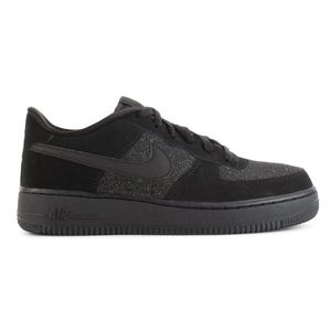 Nike Air Force 1 LV8 GS Camoscio Nero Glitter Art. 849345 002
