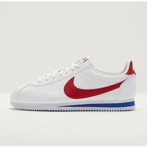 Nike Classic Cortez Pelle Bianco / Rosso / Blu Art. 749571 154
