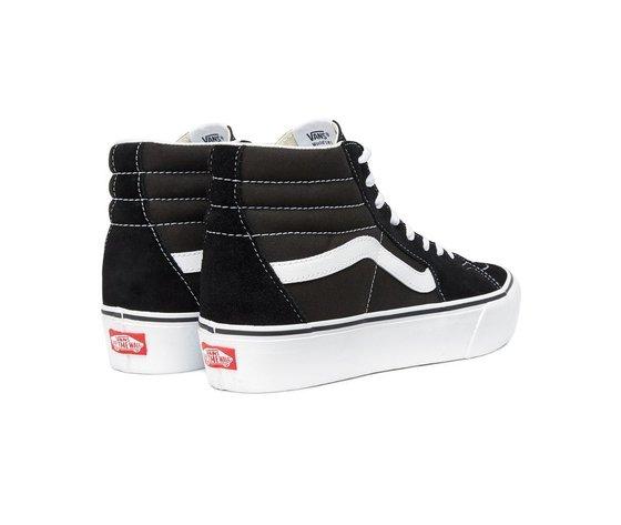 Sneakers vans sk8 hi platform 2 black true white 154028 674 3