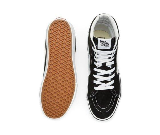 Sneakers vans sk8 hi platform 2 black true white 154028 674 4