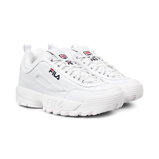 scarpe donna fila bianche