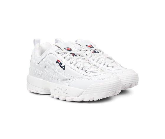 Sneakers fila wmns disruptor low white 124965 674 2