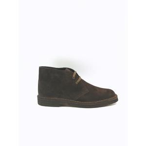 Polacchino Uomo Marrone Desert Boot Camoscio Stringata Calzata Comfort