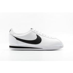 Nike Classic Cortez Leather Bianco / Nero Uomo Art. 749571 100