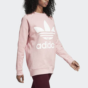 Felpa Adidas Oversize Big Logo Rosa Art. DH4432