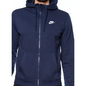 Giacca Nike Sportswear Hoodie Blu Art. 804391 451