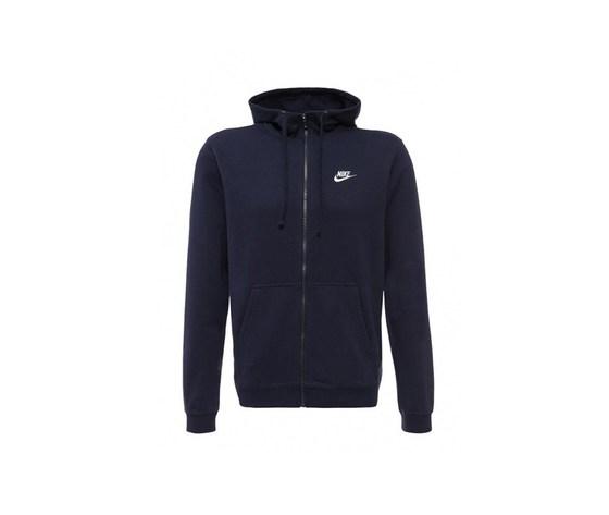 Nike m nsw club hoodie fz ft erkek sweatshirt 451 116135