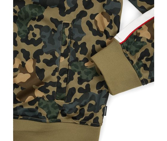 Felpe converse camo track jacket dusky green 159096 674 4