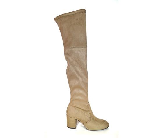 Stivali ginocchio sabbia  %281%29