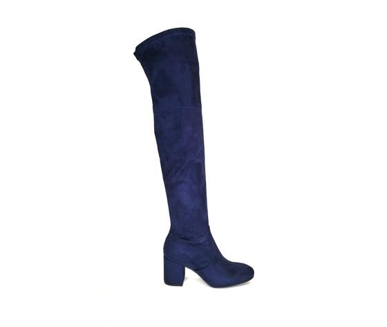 Stivali ginocchio blu %281%29