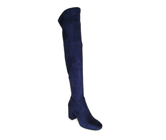 Stivali ginocchio blu %283%29