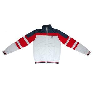 Giacca Fila unisex con zip bianco multicolor Art. 392039 0100