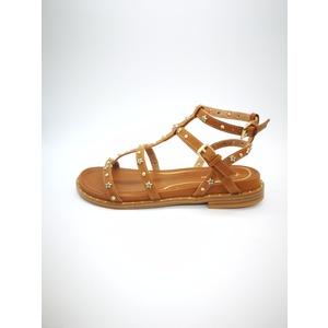 Wrangler Sandalo Borchie a caviglia Vegas Ann Ankle Vacchetta Fibbia art. WL91620A W0541