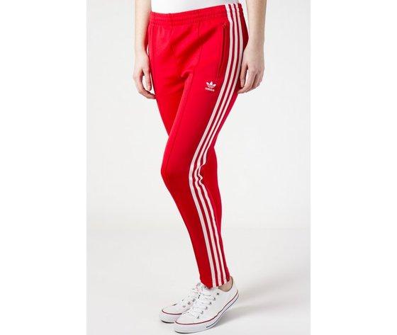 Pantaloni Adidas Track Pants SST Colore Rosso in Tricot abbigliamento donna  art. CE2401