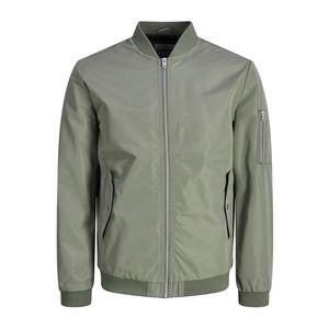 Giacca Leggera Jack & Jones colore Verde con zip uomo art. 12147376-VE