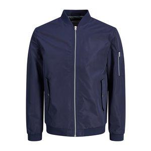 Giacca Leggera Jack & Jones colore Blu con zip uomo art. 12147376-BL