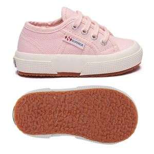 Superga Bambini Rosa Pink 2750 J Cot Classic Lacci Rosa art. S0003C0 915