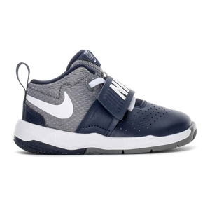Scarpe Nike Team Hustle 8 Blu Grigio bambini art. 881943 401