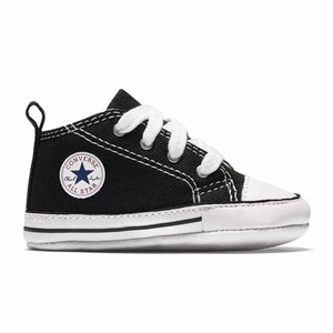 Sneakers Converse culla nero Chuck Taylor First Star bambini art. 8J231