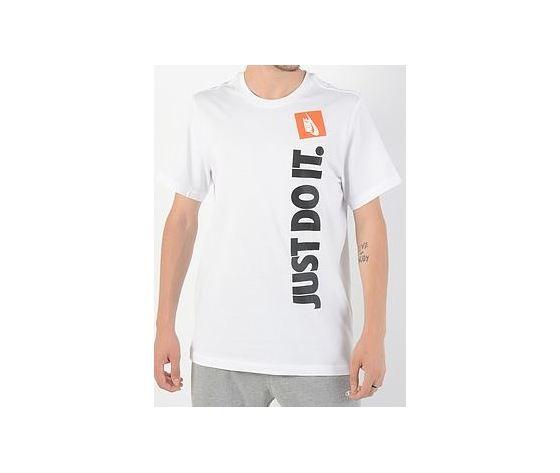 Av9986 100 t shirt just do it nike scritta verticale bianca