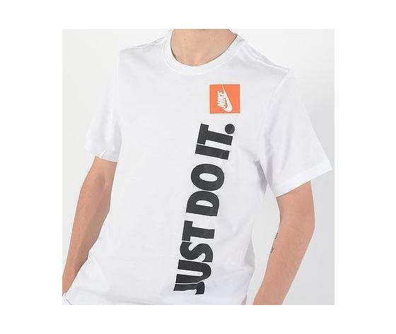Av9986 100 t shirt just do it nike scritta verticale bianca 3
