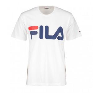 Maglietta Fila Classic Logo Basic bianca logo sul petto t-shirt uomo art. 680427 M67