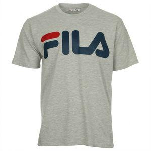 Maglietta Fila Classic Logo Basic grigio logo sul petto t-shirt uomo art. 680427 J42