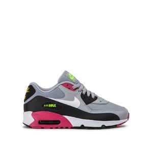 Nike Air Max 90 Mesh (GS) ragazzi grigio nero bianco viola art. 833418 027