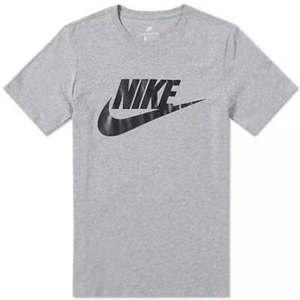 Maglietta Nike Futura Icon grigio logo nero t-shirt uomo art. 696707 064