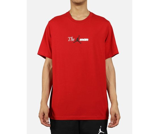 Ao0684 687 t shirt jordan the man rosso