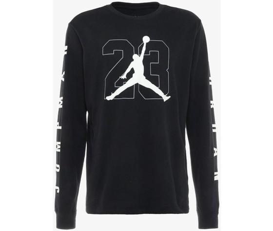 Aq3701 010 t shirt jordan jbsk ls tee nero