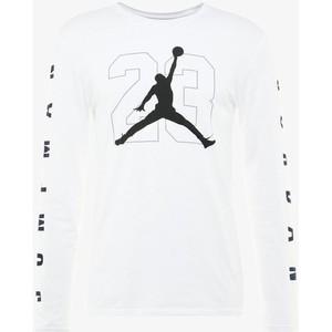 Maglietta Jordan maniche lunghe bianco JBSK LS t-shirt uomo art. AQ3701 100