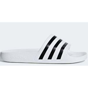 Ciabatte Adidas ammortizzate Adilette Aqua bianco nero art. F35539