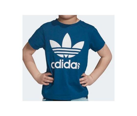 Dv2859 maglietta blu trefoil bambini 3