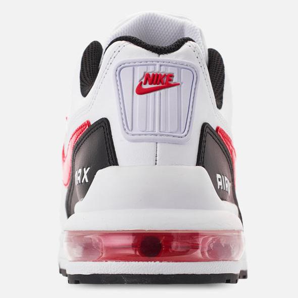 Sneakers Nike Air Max LTD 3 colore bianco rosso e nero ammortizzatore tallone scarpe sportive uomo art. BV1171100
