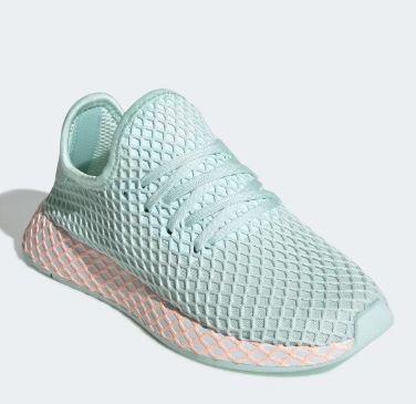 Scarpe DonnaUomo Adidas DEERUPT RUNNER Sneakers basse blue ⋆ Roberta De Maddi