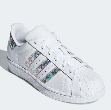 adidas superstar bianche argento