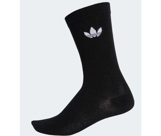 Dv1729 calzini adidas trefoil 2 paia nero