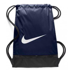 Sacca Nike Brasilia blu logo bianco palestra art. BA5338 410