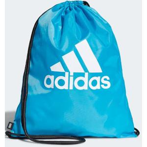 Sacca Adidas da palestra celeste logo bianco art. DT2597