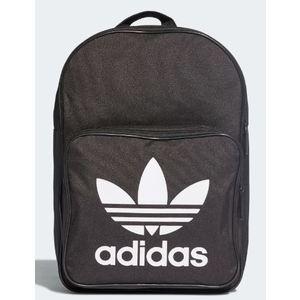 Zaino Adidas nero logo Trefoil bianco art. DW5185
