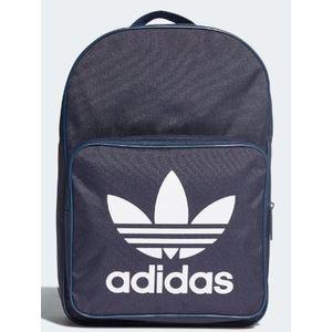 Zaino Adidas blu logo Trefoil bianco art. DW5189